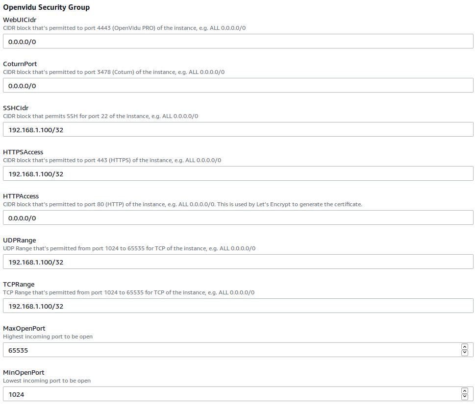 OpenVidu Documentation - Deploying OpenVidu Pro